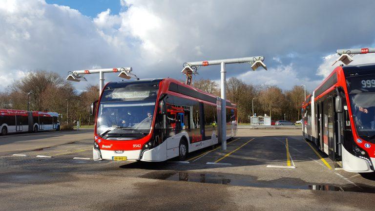 Transdev bus électrique Pays-Bas