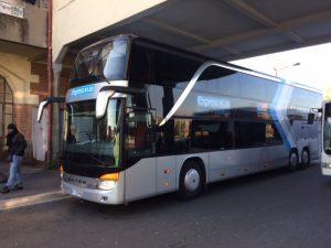 Test bus à impériale Stif