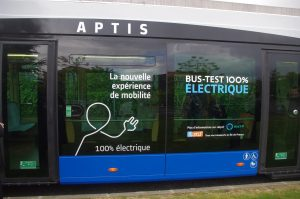 Bus Aptis Alstom
