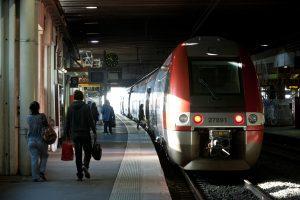 TER Gare de Montpellier.