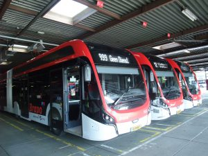 Bus VDL aux Pays-Bas Eindhoven