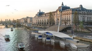 Sea Bubbles navettes Seine Paris