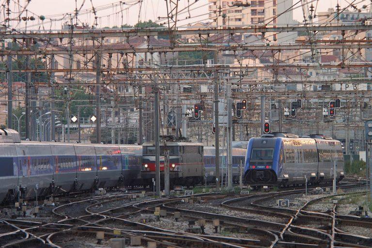 Gare Saint-Charles. Crédit : RFF / GIRAUD Philippe