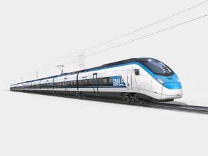 Train grande vitesse Smile de Stadler