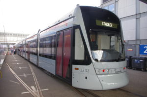 Tram Aarhus Danemark