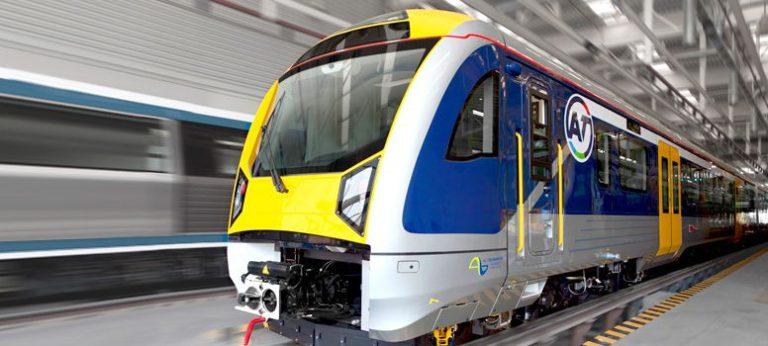 Train banlieue Auckland Nouvelle-Zélande