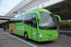 Flixbus dans gare routière