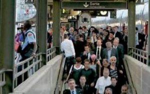 Quai TGV usagers