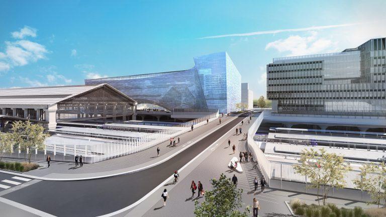 projet pont de la Salpêtrière gare d'Austerlitz
