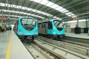 Métro de Kochi (Cochin) Inde rames Alstom