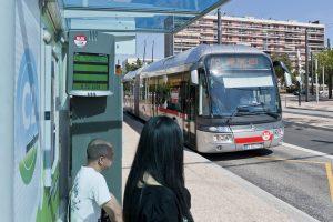 Lyon autobus C2 Visulys
