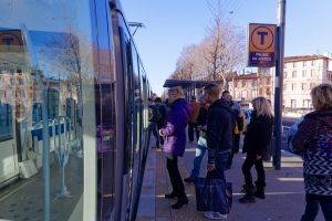 Voyageurs tramway Toulouse