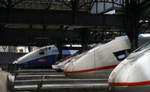 Gare de l'Est - Paris ICE et TGV