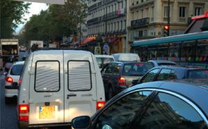 embouteillage voiture Paris pollution