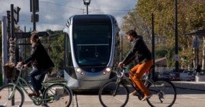 tram vélo Toulouse