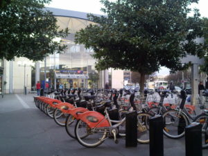 Bicloo Nantes VLS Gare Sud