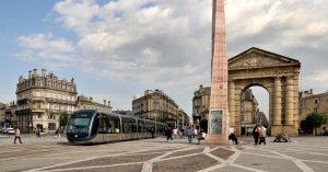 Place de la Victoire Bordeaux tram