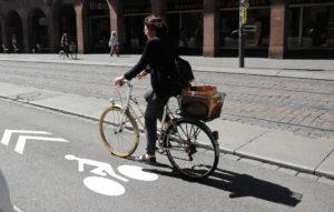 Inauguration Vélorue Strasbourg vélo