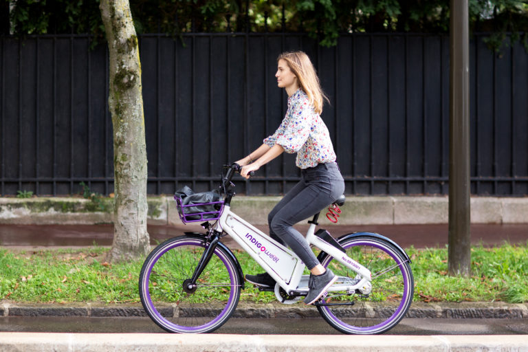 Indigo Bordeaux bordeaux accueille des vélos sans station