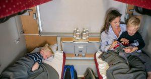Train de nuit 2 Nightjet OBB Autriche