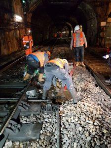 RER C Crue de la Seine Jan 2018