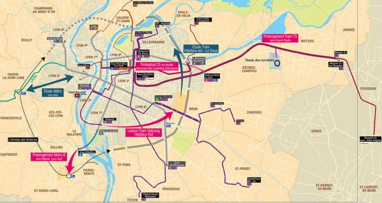 Lyon Lance Sa Future Ligne De Metro Pour 2030 Ville Rail Et Transports