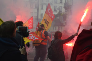 Manifestation syndicat CGT