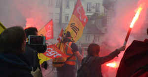 Manifestation syndicat CGT