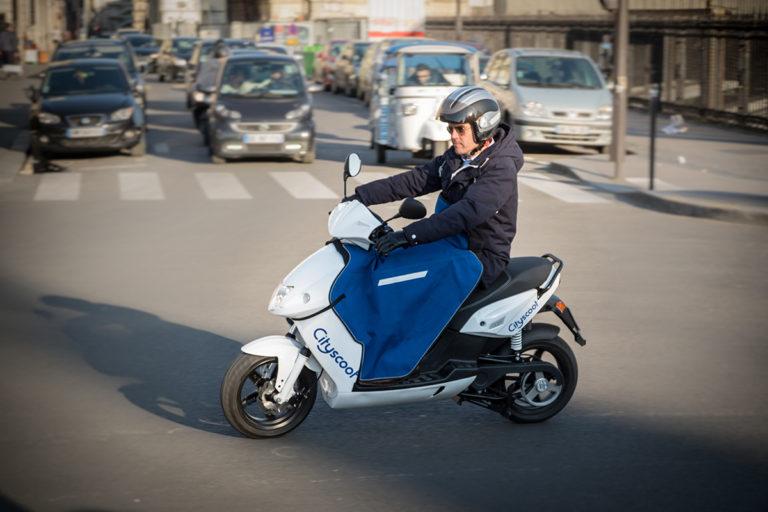 Cityscoot Paris