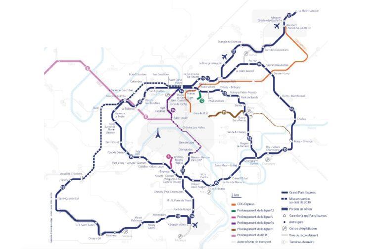 Alstom choisi pour le métro du Grand Paris