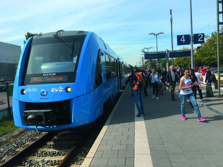 iLint d'Alstom en Basse-Saxe