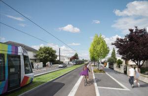Tramway ligne B Angers
