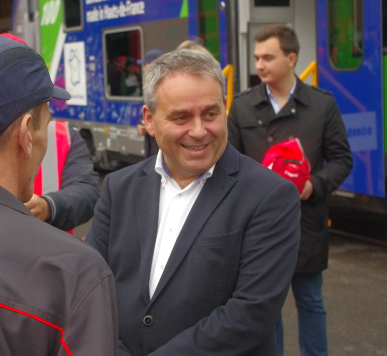 Xavier Bertrand, président des Hauts-de-France