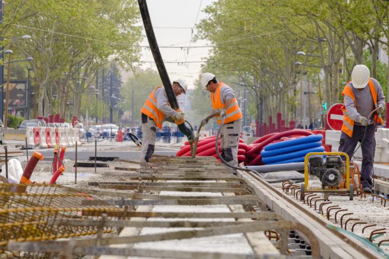 travaux tramway T6 Lyon