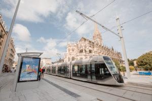 tramway fer Caen