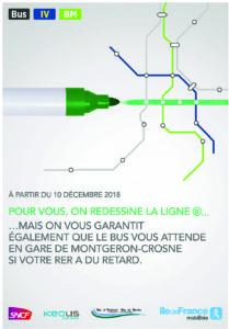 RER bus Montgeron-Crosne