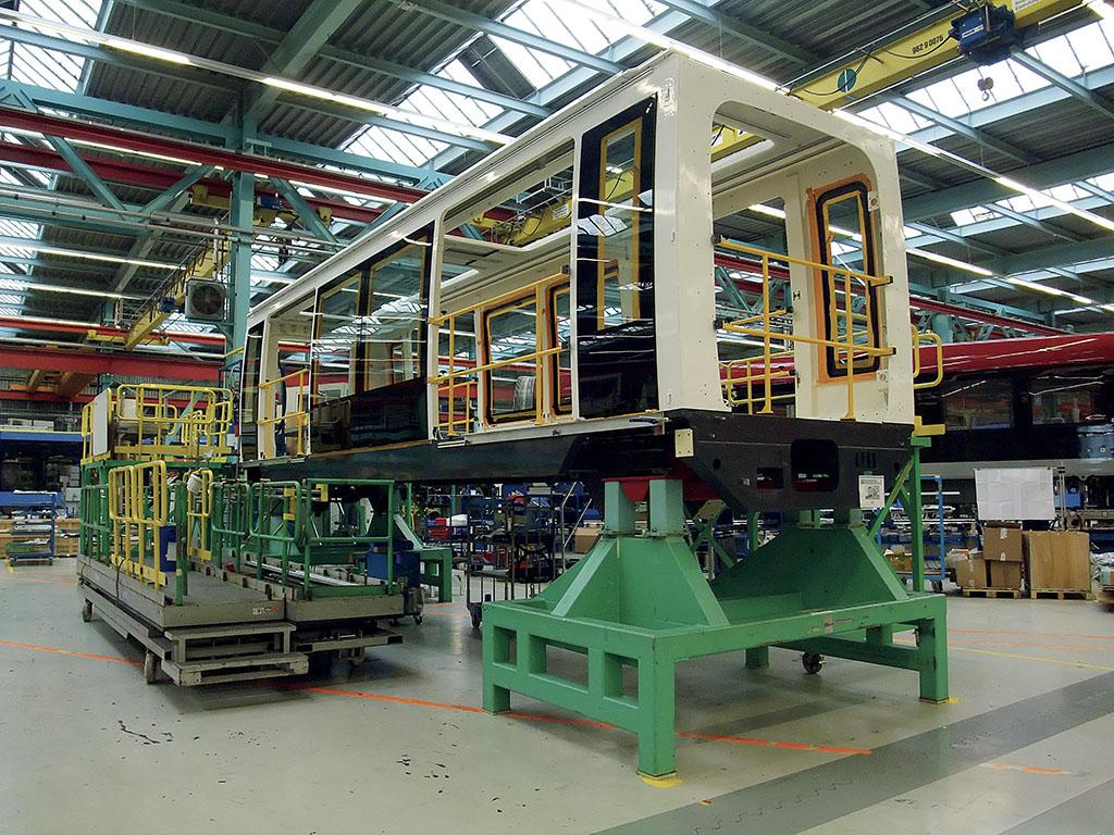 Cityval Usine Siemens