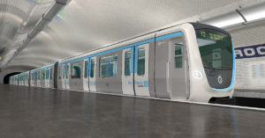 Metro Paris rames MF19