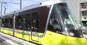 Tramway (T3) à Saint-Etienne