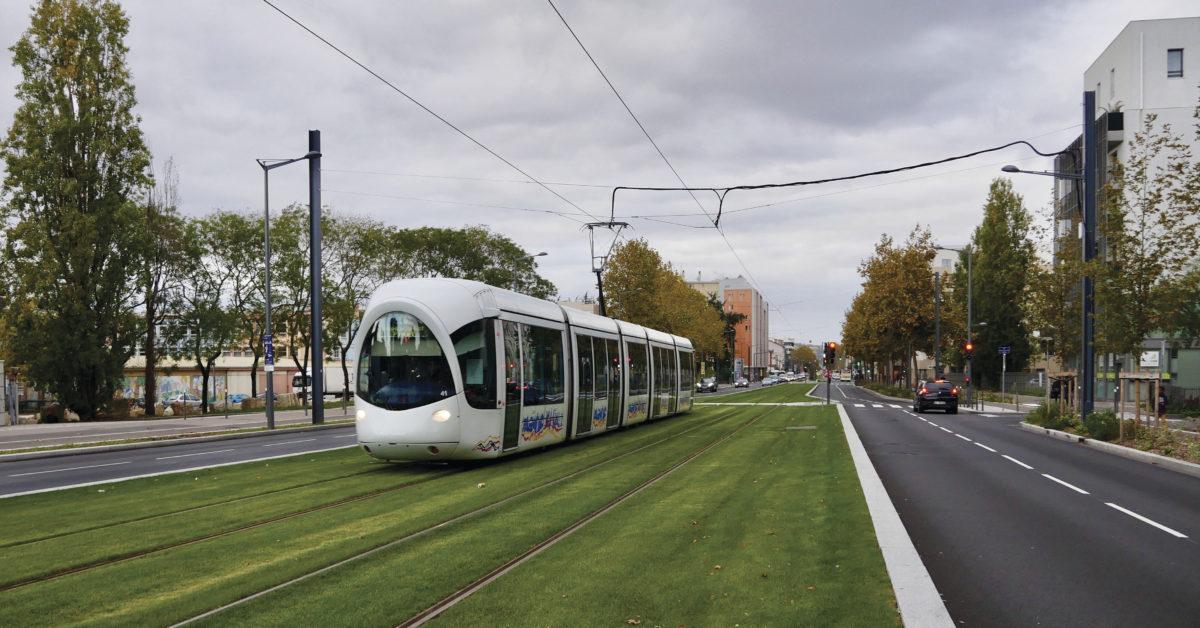 Lyon tram
