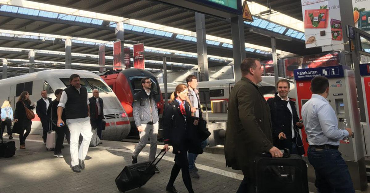 Munich gare