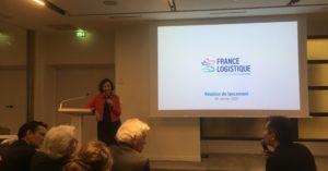 Anne-Marie Idrac lors du lancement de France Logistique le 8 janvier 2020