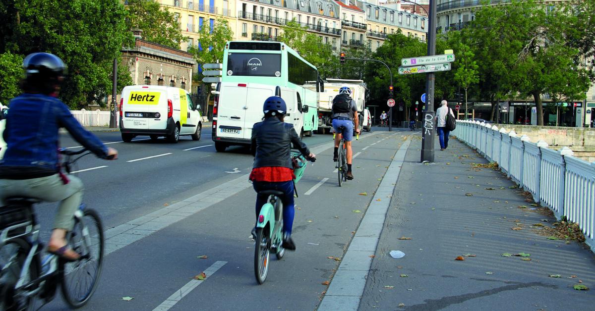 pistes cyclables Paris