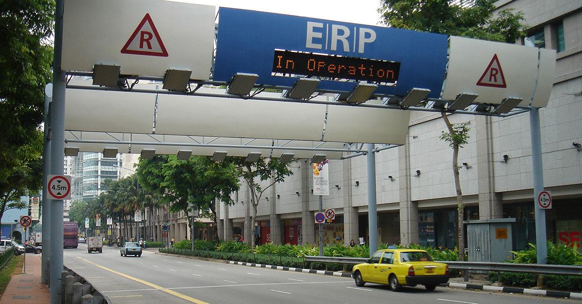 peage ERP Singapour
