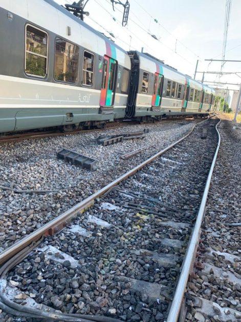 Déraillement d'un RER B le 24 juin à Denfert-Rochereau