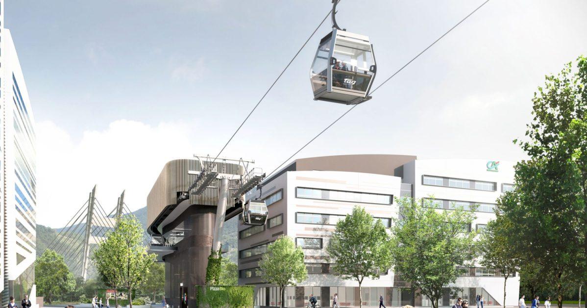 Téléphérique à Grenoble