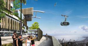 Téléphérique urbain à Saint-Denis de La Réunion (MND)