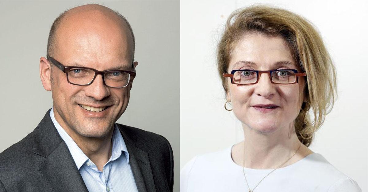 Stefan Burkle et Morgane Castanier
