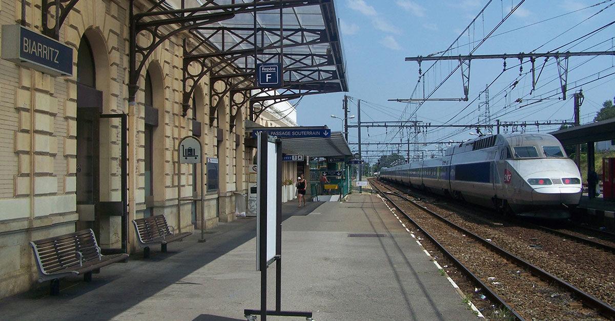 TGV Hendaye-Paris