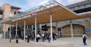 façade de la gare de Lyon-Perrache